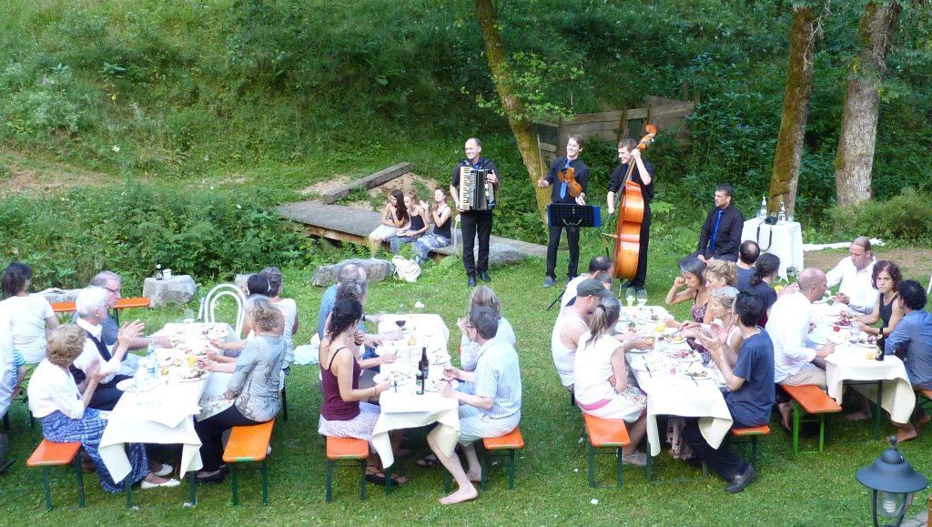 Gartenparty im Schwarzwald